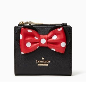 KATE SPADE  | Minnie Mouse Wallet NWT